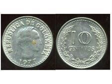COLOMBIE 10 centavos   1977  ( bis )