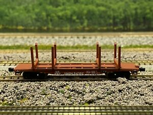 N Scale - Walthers Union Pacific 45' Logging Flat Car UP 51871 N5076