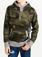 Abrcrombie & Fitch Men's Midweight Fleece Hoodie Sz L $78 NEW