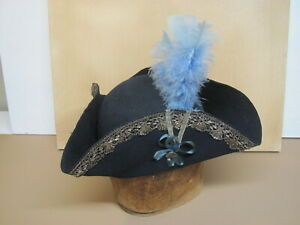 SUPERIOR CAP TRICORN Hat    SIZE  7  small