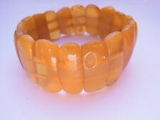 Nature Amber Ambre Bracelet Bracelet barcelet Ambre Jaune butterscotch nº 154