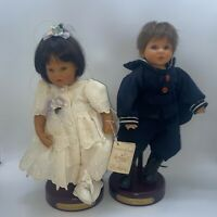 "2001 Lee Middleton Our Pride & Joy, Irish Child 10"" Miniature Doll Artist Studio"