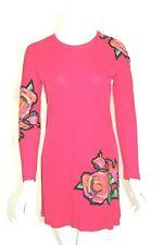 Louis Vuitton Sz 36 Stephen Sprouse Hot Pink Graffiti Roses Mini Dress Rare HTF