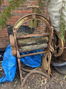 Vintage/Antique Cast iron mangle