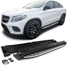 MARCHE PIEDS PLAT ALU MERCEDES AMG LOOK MERCEDES GLE COUPE C292 2015 2016 2017