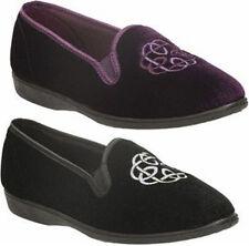 Clarks Velvet Upper Slippers for Women