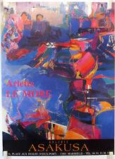 Arlette LE MORE expose Galerie Asakusa à Marseille  AFFICHE ORIGINALE/20PB