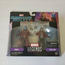 """Marvel Legends 3.75"""" Guardians Galaxy Vol. 2 STAR-LORD YONDU 2-PACK NEW"""