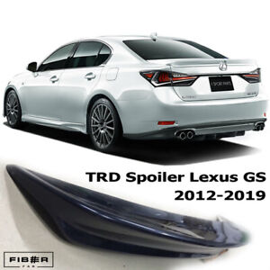2012-2020 Lexus GS350 GS450h GS300 GS250 TRD F Sport Spoiler Rear Wing Trunk