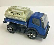 Vintage Tonka truck Mites Blue fuel Tanker