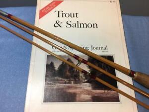 H.L. Leonard Bamboo Salmon Trolling Rod-Very Rare