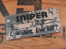 SNAKE PATCH - - - Sniper One shot One kill - - -couleur ACU DIGITAL US