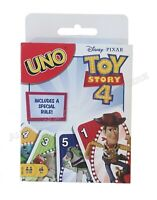 Mattel - UNO Toy Story 4 Card Game - Disney Pixar - New Sealed - In Stock
