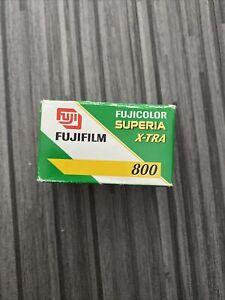 Fujifilm Fujicolor Superia X-TRA 800 35mm Roll Color Negative (expired) Film