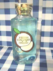 Bath & Body Works FRESH COCONUT COLADA Shower Gel 10oz / 295 ml