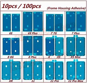 Lot Frame Housing Adhesive Waterproof Glue For iPhone 11 Pro X XR XS Max 7 8 6S
