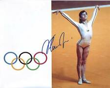 NADIA COMANECI Signed Autographed OLYMPIC GYMNAST Photo