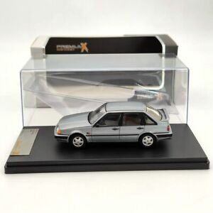 Premium X 1:43 Volvo 440 1988 PRD440 Diecast Models Car Limited Collection Grey