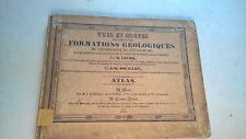 VUES ET COUPES DES PRINCIPALES FORMATIONS GEOLOGIQUES  PUY DE DOME- LECOQ 1830 *