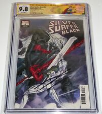 Silver Surfer Black #4 CGC SS Signature DONNY CATES Signed Variant Knull 9.8