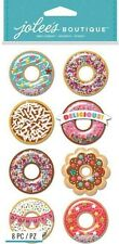 DONUTS Doughnuts Frosted Sprinkles Glazed Snow Globes Jolee's Stickers Scrapbook