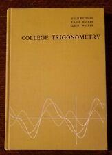 Vintage Textbook 1970 COLLEGE TRIGONOMETRY - Hardcover *Excellent Condition*