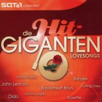 DIE HIT GIGANTEN - LOVESONGS 2 CD DIDO CELINE DION NEU!