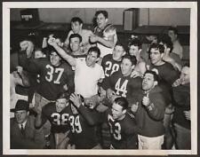 1943 SAMMY BAUGH Washington Redskins Eastern Division Playoff ACME Wire Photo