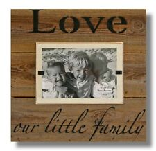 LOVE FAMILY FRAME BEACH WALL ART RECLAIMED BARNWOOD PICTURE RUSTIC SIGN VALENTIN