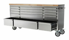 SGS STC7200B 72 inch Tool Cabinet - Stainless Steel