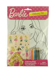 Barbie Jeu de Coloriage / Fête D'Anniversaire Autocollants