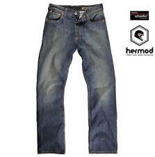 Pantaloni blu per motociclista tutte le stagioni
