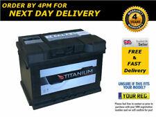 075 Titanium High Performance Car Battery 12V 62Ah fits many Vauxhall Volvo VW