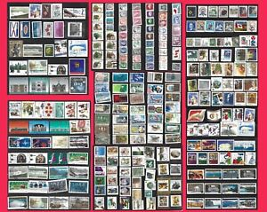 CANADA EARLY TO MODERN SELECTION 276 STAMPS COMPLETE & PART SETS MINT USED 0923