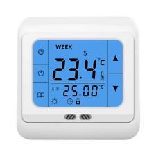 24V Digital Touchscreen Raumthermostat Gaskessel Wasser-Heizkörp Fußbodenheizung