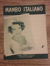 Mambo Italiano - Rosemary Clooney (1954) sheet music