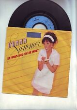 "disque 45 tours  mercury -- donna summer - "" she works hard for the money """