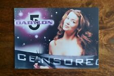 Babylon 5 ' Commander Susan Ivanova' (Claudia Christian) Colour Photograph