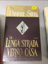 LIBRO  LA LUNGA STRADA VERSO CASA DANIELLE STEEL SPERLING 1999 COPERTINA RIGIDA