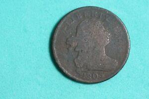Estate Find 1803 - DRAPED BUST HALF CENT!!  #J20269