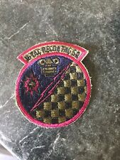 "Rare Vtg Subdued 70s Patch 3"" USAF 16th Tactical Reconnaissance Squadron"