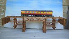 Model Train  Rail bridge Australian QGR and NSWR Wooden Hand Made