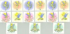 Beautiful Disney TINKERBELL Stickers 15 LARGE Stickers! Tinker Bell TINK Fairy
