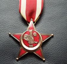 Mano de hierro media luna Gallipoli estrella de bronce osmanisches rico turquía cruz de hierro
