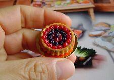 1 dolls house miniatures food cake fruit maison de poupée Dolls house fimo^