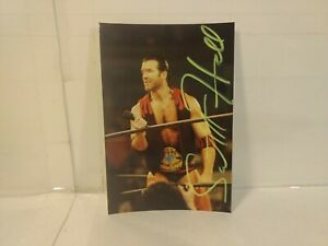 "Scott Hall WCW Wrestling Autographed Signed 4x6"" Photo n246"
