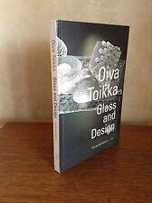 Oiva Toikka Glass And Design Hardcover Book By Jack Dawson Art Finnish Rare Fine