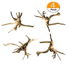 4 PCS Driftwood for Aquarium Wood Natural Trunk Reptile Driftwood Tree Fish Tank