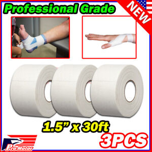 "1.5"" x 30ft Premium Athletic Sport Tape Mortar Joint Muscles Care Support Wrap"