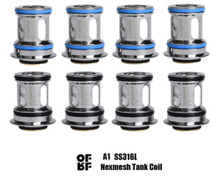 (4-Pack / 2-Pack) Genuine OFRF/Wotofo Nexmesh Conical Mesh Coils  0.15/0.2 Ohms